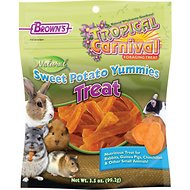Brown's Tropical Carnival Sweet Potato Yummies Small Animal Treats, 3.5-oz bag