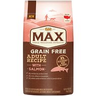 Nutro Max Grain-Free Adult Recipe with Salmon Dry Dog Food, 4-lb bag