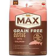 Nutro Max Grain-Free Adult Recipe with Salmon Dry Dog Food, 25-lb bag