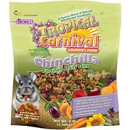 Brown's Tropical Carnival Biscuits Chinchilla Food, 3-lb bag