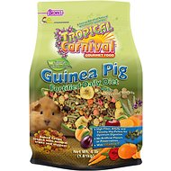 Brown's Tropical Carnival Natural Biscuits Guinea Pig Food, 4-lb bag