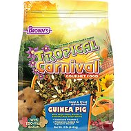Brown's Tropical Carnival Biscuits Guinea Pig Food, 10-lb bag