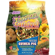 Brown's Tropical Carnival Biscuits Guinea Pig Food, 5-lb bag