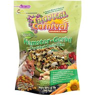 Brown's Tropical Carnival Biscuits Hamster & Gerbil Food, 2-lb bag