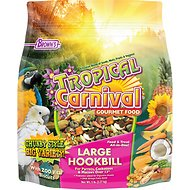 Brown's Tropical Carnival Biscuits Large Hookbill Bird Food, 5-lb bag