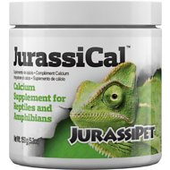 JurassiPet JurassiCal Reptile & Amphibian Dry Calcium Supplement, 5.3-oz jar