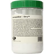 JurassiPet JurassiCal Reptile & Amphibian Dry Calcium Supplement, 4.4-lb jar