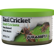 JurassiPet EasiCricket Small Cricket Reptile Food, 1.2-oz can