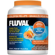 Fluval Multi Protein Formula Goldfish Pellet Fish Food, 5.29-oz jar