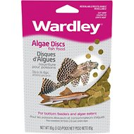Wardley Algae Discs Fish Food, 3-oz bag