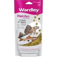 Wardley Algae Discs Fish Food, 8.5-oz bag