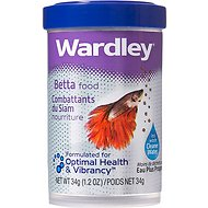 Wardley Betta Fish Food, 1.2-oz jar