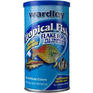 Wardley Flake Tropical Fish Food, 1.95-oz jar