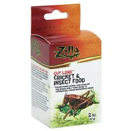 Zilla Gut Load Cricket & Insect Food Supplement, 2-oz bottle