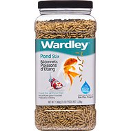 Wardley Stix Pond Fish Food, 3-lb jar