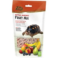 Zilla Reptile Munchies Fruit Mix Reptile Food, 2.5-oz bag