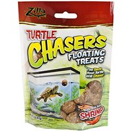 Zilla Turtle Chasers Floating Shrimp Turtle Treats, 2-oz bag