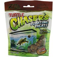 Zilla Turtle Chasers Floating Clam Turtle Treats, 2-oz bag