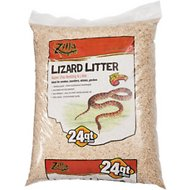 Zilla Lizard Litter Aspen Chip Reptile Bedding, 24-quart bag