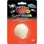 Omega One Super Color 7-Day Vacation Feeder Block Fish Food, 1 count