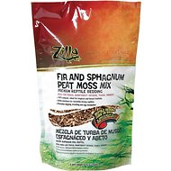 Zilla Fir & Sphagnum Peat Moss Mix Reptile Bedding, 3.7-L bag