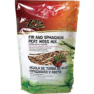 Zilla Fir & Sphagnum Peat Moss Mix Reptile Bedding, 7.5-L bag