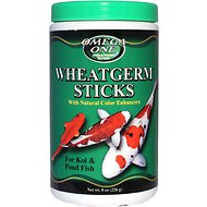Omega One Wheat Germ Sticks Koi & Pond Fish Food, 8-oz jar