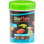 GloFish Special Flakes Fish Food, 1.59-oz jar