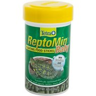 Tetra ReptoMin Baby Floating Sticks Turtle & Amphibian Food, 0.92-oz jar