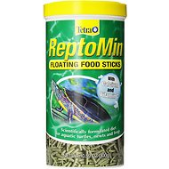 Tetra ReptoMin Floating Sticks Turtle & Amphibian Food, 10.59-oz jar