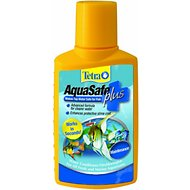 Tetra AquaSafe Plus Freshwater & Marine Aquarium Water Conditioner, 33.8-oz bottle