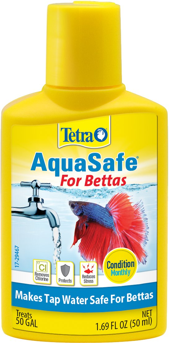 Tetra bettasafe aquarium water conditioner bottle for Water conditioner for fish tank