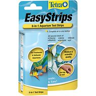 Tetra EasyStrips 6-in-1 Freshwater & Saltwater Aquarium Test Strips, 25 count