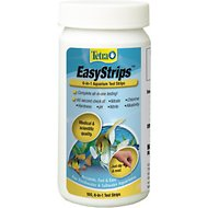 Tetra EasyStrips 6-in-1 Freshwater & Saltwater Aquarium Test Strips, 100 count