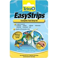 Tetra EasyStrips Complete Freshwater & Saltwater Aquarium Test Strips, 25 count