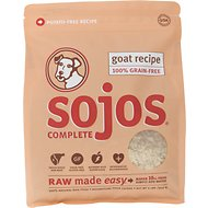 Sojos Complete Goat Recipe Adult Grain-Free Freeze-Dried Dog Food, 2-lb bag