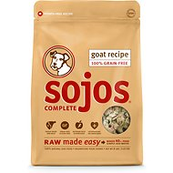 Sojos Complete Goat Recipe Grain-Free Freeze-Dried Dog Food, 8-lb bag