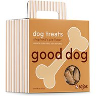 Sojos Good Dog Shepherd's Pie Flavor Dog Treats, 8-oz box