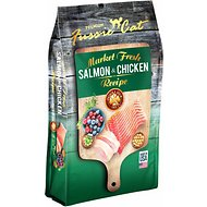 Fussie Cat Market Fresh Salmon & Chicken Recipe Grain-Free Dry Cat Food, 10-lb bag