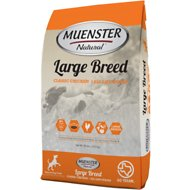 Muenster Natural Large Breed Classic Chicken All Life Stages Dry Dog Food, 30-lb bag