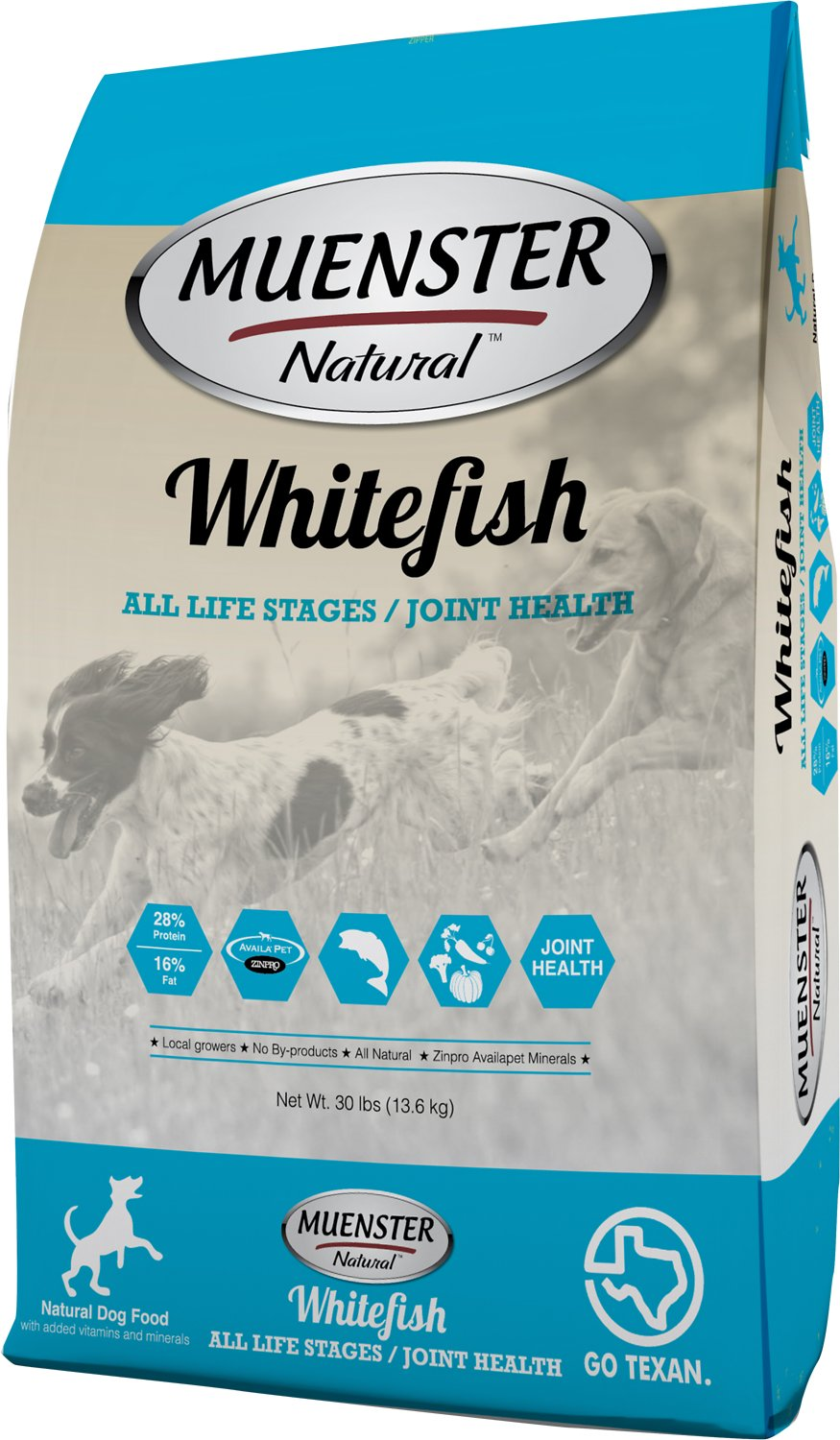 Muenster Whitefish Dog Food