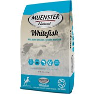 Muenster Natural Whitefish All Life Stages Dry Dog Food, 15-lb bag