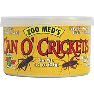 Zoo Med Can O' Crickets Reptile & Bird Food, 1.2-oz can