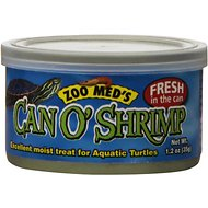 Zoo Med Can O' Shrimp Aquatic Turtle Food, 1.2-oz can