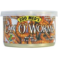 Zoo Med Can O' Worms Reptile & Fish Food, 1.2-oz can