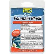 Tetra Algae Control Pond Fountain Block Water Treatment, 6 count