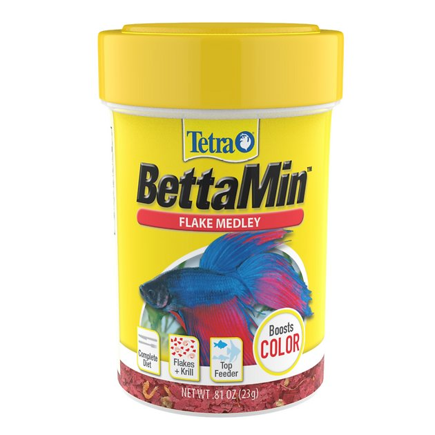 Tetra bettamin tropical medley color enhancing fish food for Aquarium fish food