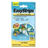 Tetra EasyStrips 6-in-1 Aquarium Test Strips, 4 count