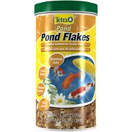 Tetra Pond Flakes Small Fish Food, 6.35-oz jar