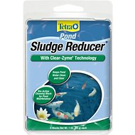 Tetra Pond Sludge Reducer with Clear-Zyme Technology Water Conditioner, 4 count